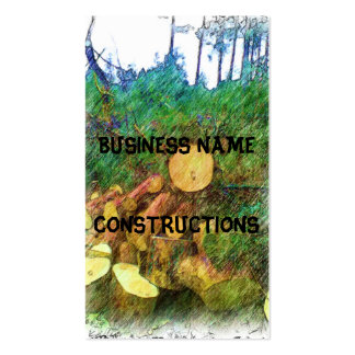 wood of tree business card