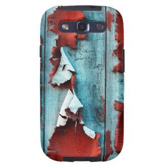 Wood Paint Peeling Samsung Galaxy S3 Case