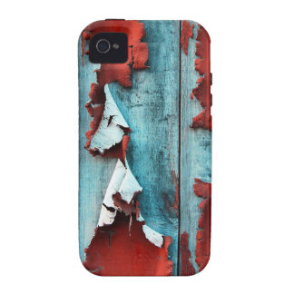 Wood Paint Peeling Vibe iPhone 4 Cover