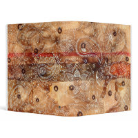 Wood Paisley binder