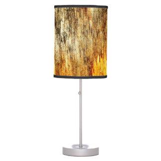 """Wood Panel Neglect"" JTG Art Table Lamp"