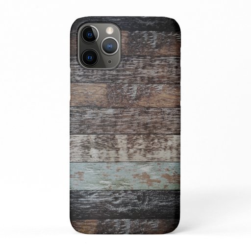Wood Panel | Rustic iPhone 11 Pro Case