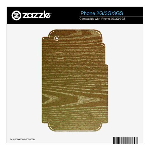 Wood Paneling Decals For iPhone 3G
