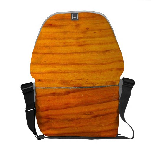Wood Panels Messenger Bags
