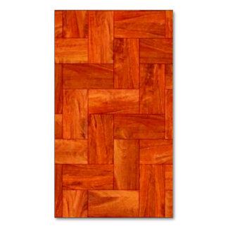 Wood Parquet Foor Pattern  Business Card Blank (ad