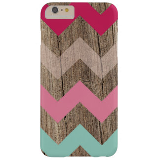 Wood pastel chevron zigzag zig zag pattern chic barely there iPhone 6 plus case
