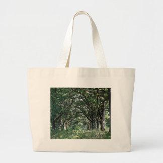 Wood pasture large tote bag
