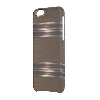 Wood Pattern Bronze/Gold IPhone 6 Case
