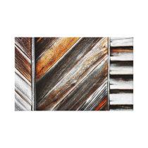 Wood Pattern Canvas