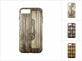Wood Pattern Casing