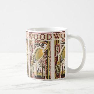 Wood Pecker Deco Coffee Mug