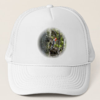 Wood Pecker - Red Bellied Trucker Hat