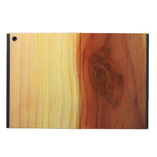 Wood Picture Case For iPad Air