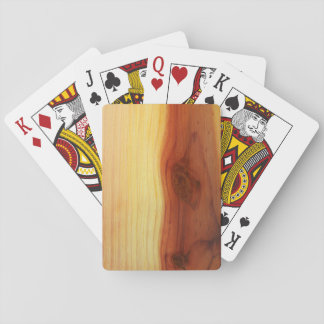 Wood Picture Card Deck