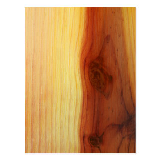 Wood Picture Postcard