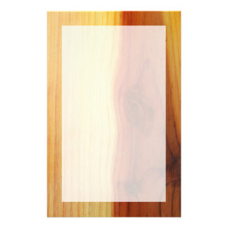 Wood Picture Stationery