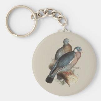 Wood Pigeon Keychain