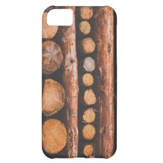 Wood Pile iPhone 5 Case