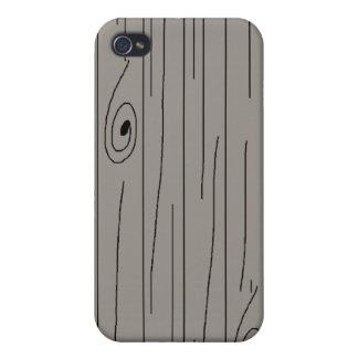Wood Plank Pattern Hard Case iPhone 4