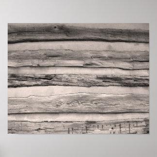 Wood Planks Print