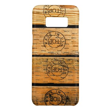"""USA Themed Wood Planks Stamped with """"Made in USA"""" Case-Mate Samsung Galaxy S8 Case"""