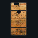 """Wood Planks Stamped with &quot;Made in USA&quot; Wood Nexus 6P Case<br><div class=""""desc"""">.</div>"""
