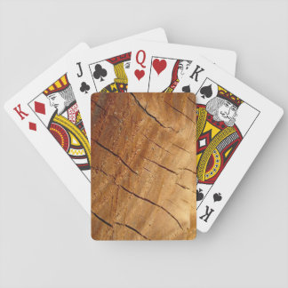 Wood Playing Cards