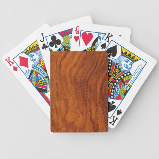 Wood Products Bicycle Playing Cards