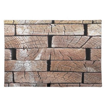 Professional Business wood, retro, trees placemat