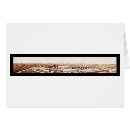 Wood River Refinery Photo 1908 Greeting Card