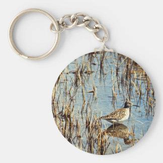 Wood Sandpiper, Amchitka Is, 1973 Keychain
