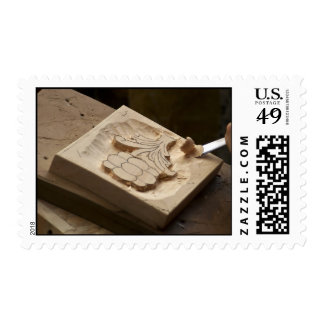 wood sculpture stamps