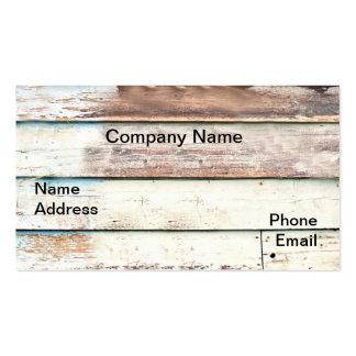Wood Shack Wall Business Card