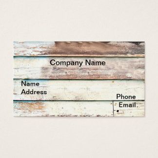 Wood Shack Wall Business Card 2
