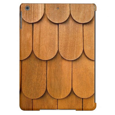 Wood Shingles Case iPad Air Covers