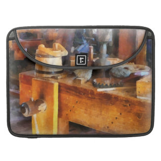 Wood Shop With Wooden Bucket Sleeves For MacBooks