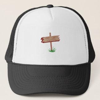 Wood Sign Trucker Hat
