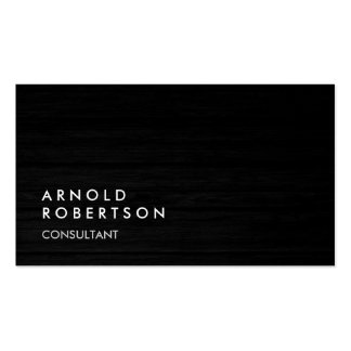 Wood Simple Plain Gray Trendy Business Card Pack Of Standard Business Cards