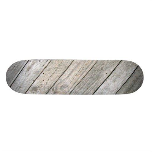 Wood Skateboard 2