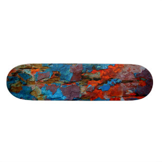 Wood skateboard. skateboard