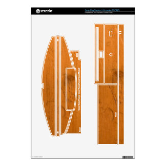 Wood Skins For PS3 Console