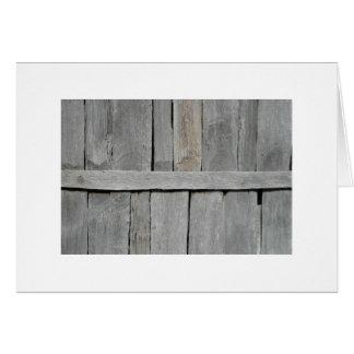 Wood Slat Wall Card