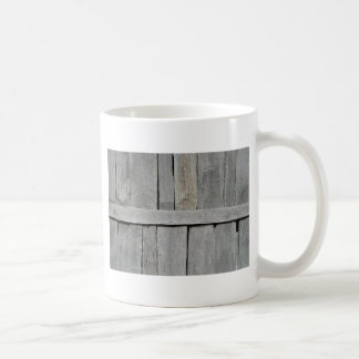 Wood Slat Wall Coffee Mug