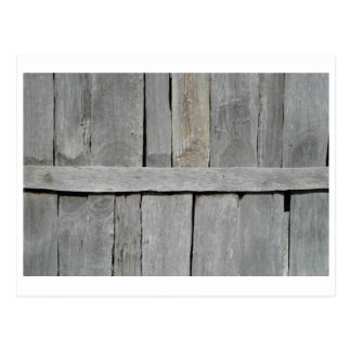 Wood Slat Wall Postcard