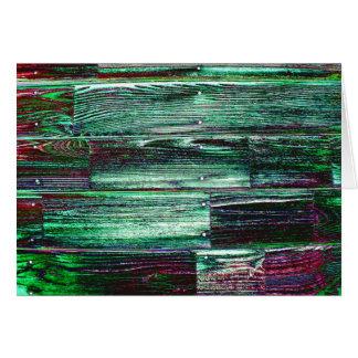 Wood Slats Card