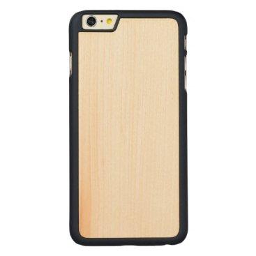 Beach Themed Wood Slim iPhone 6/6s Plus Case