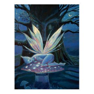 Wood Spirit - Fairy art postcard