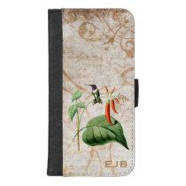 Wood Star Hummingbird iPhone 8/7 Plus Wallet Case