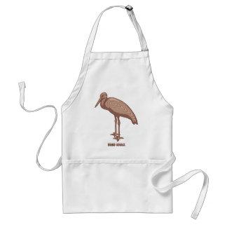 Wood Stork Adult Apron