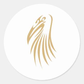 Wood Stork Classic Round Sticker